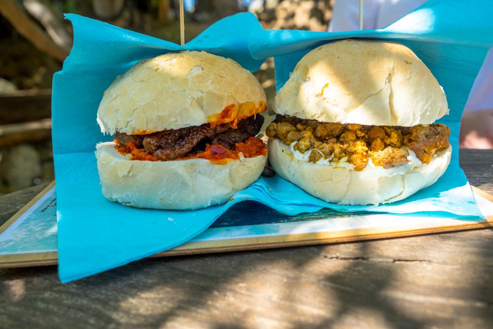 Sandwiches at Safari Bar