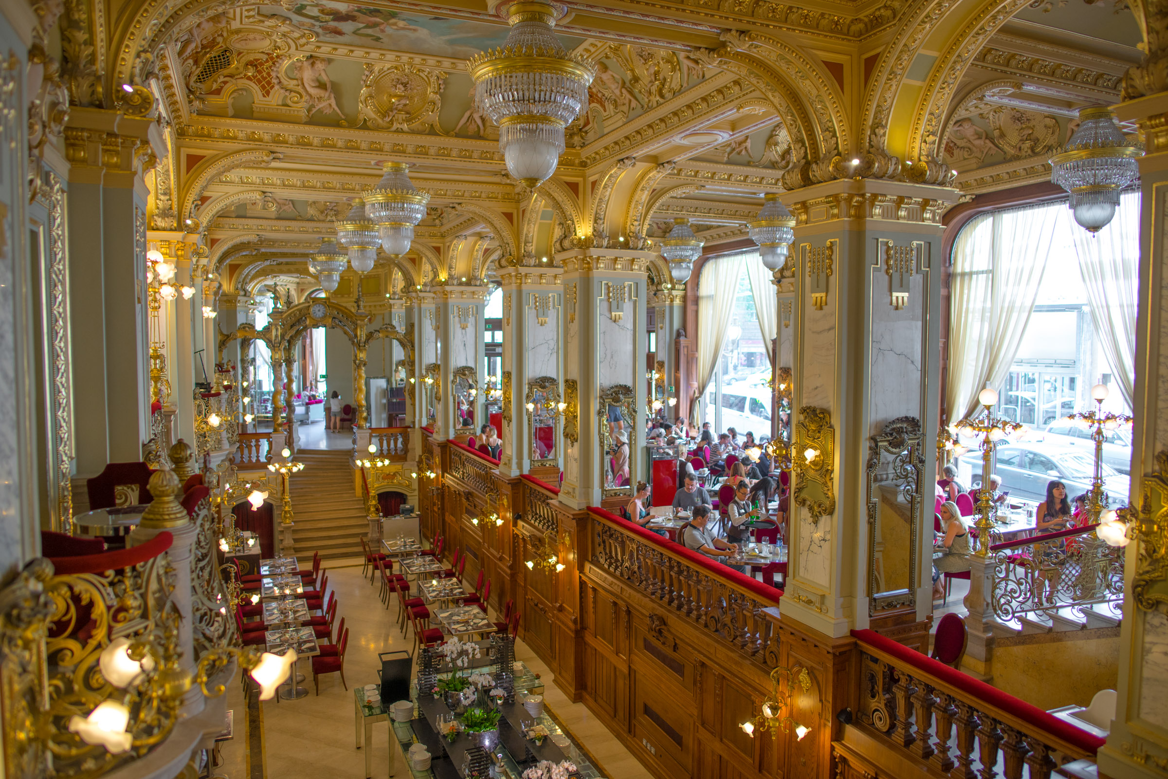 New York Cafe in Budapest, Hungary