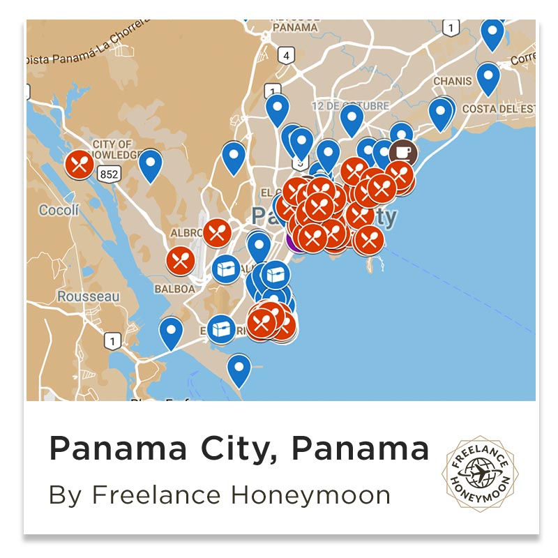 Best Work From Cafe Panama City